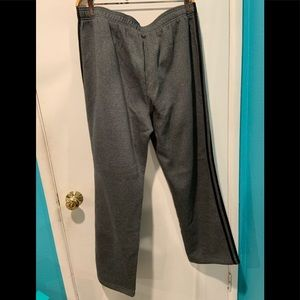 Adidas gray sweatpants